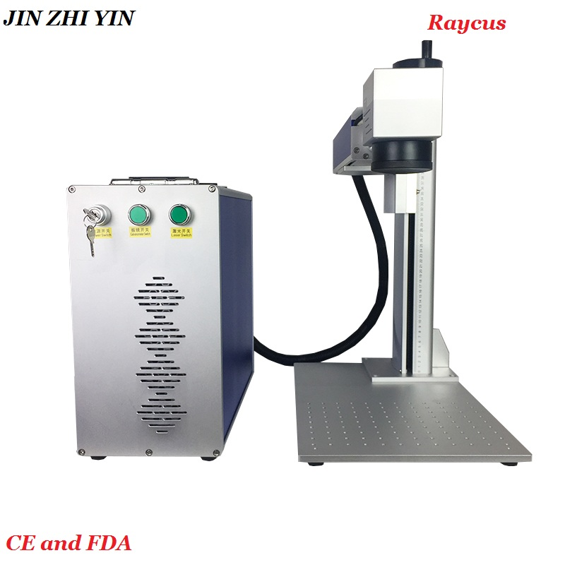 Laser Marking Machine 30w Raycus Source Sino Galvanometer Marking Size Optional Free Shipping To Russia Customers