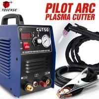 Pilot Arc Plasma Cutter Plasma Cutting Machine 220V 50A IGBT HF Work with CNC