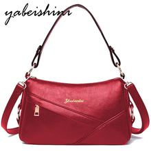 Women Messenger Bags Small Crossbody Bags For Women Leather Shoulder Bag Female Handbags High Quality Vintage Bag Sac a main недорго, оригинальная цена