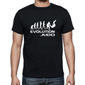 New Summer Evolution Of Judo Funny Adult Men Cotton Short Sleeve T Shirts  Rap Tees