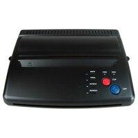 Black Silver Tattoo Transfer Machine Printer Drawing Thermal Stencil Maker Copier For Tattoo Transfer Paper Copy