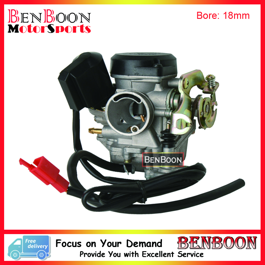 hight resolution of gy6 50cc engine parts pd18j carburetor 139qmb chinese scooter parts atv parts znen baotian taotao icebear free shipping