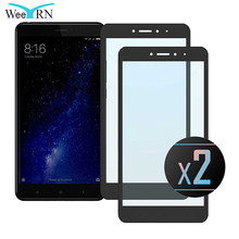 WeeYRN 2 шт. защитное стекло на Xiaomi Mi Max 2(Сяоми ксиоми Ми Макс 2) для Xiaomi Mi Max закаленное Стекло полное покрытие Экран протектор на Xiaomi Mi MAX(Сяоми ксиоми Ми Макс) стекла защитная пленка