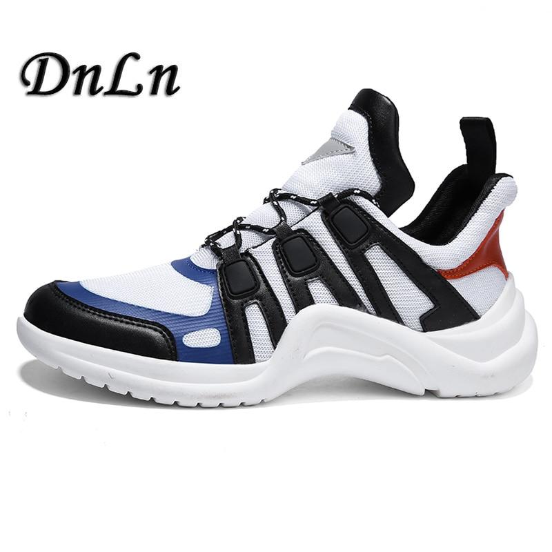 Vintage Dad Men Shoes 2018 Kanye West Fashion Mesh Light Breathable Men Casual Shoes Men Sneakers Zapatos Hombre D50 цены онлайн
