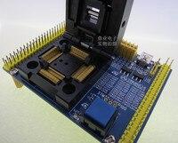 Clamshell STM32F STM32L/103/151/407/105 YAMAICHI LQFP100 abstand 0 5mm IC Brenn sitz Adapter test Buchse prüfstand