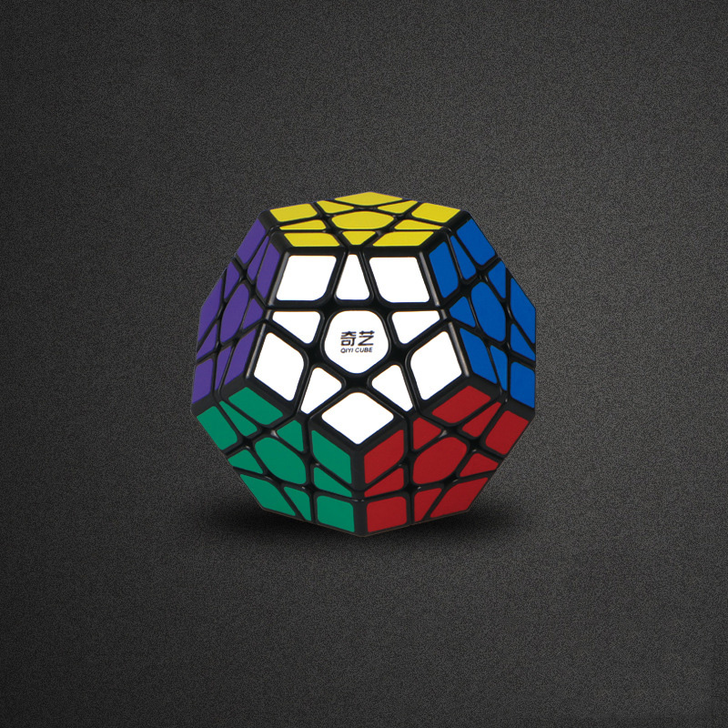 QIYI megaminx magic cube stickerless speed professional 12 sides puzzle cubo magico educational toys for children megamind