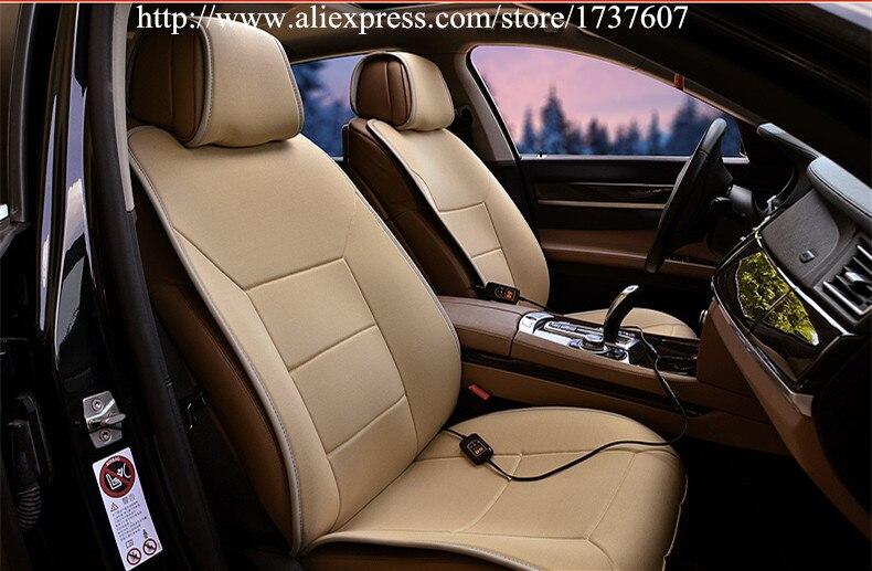 Haute qualité 12 V siège de voiture coussin chauffant hiver saisons sièges chauffants voiture unique siège coussin chauffant