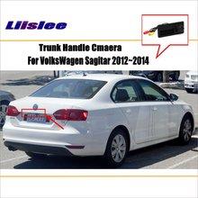 цена на Car Parking Camera / Reverse Camera For VW VolksWagen Sagitar 2012~2014 / RearView Camera  / Trunk Handle OEM