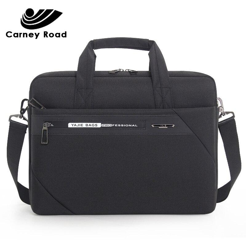2019 Brand Waterproof Oxford Business Men's Briefcase 14 15 Inch Laptop Bag Messenger Shoulder Bag Casual Handbag For Men