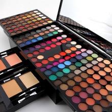 Miss Rose Professional Makeup 180 Colors Matte Shimmer Palette Powder Blush Eyeb