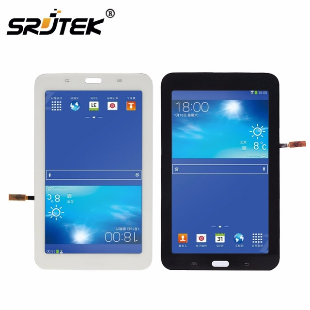 SRJ For Samsung Galaxy Tab 3 SM-T110 SM-T111 SM-T113 SM-T116 SM-T114 LCD Display Touch Screen T110 T111 T113 T116 T114 Assembly