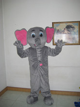 mascot Adult Size Christmas Big Elephant Zoo Animal Mascot Costume Grey Elephant Mascotte Outfit Suit Fancy Dress