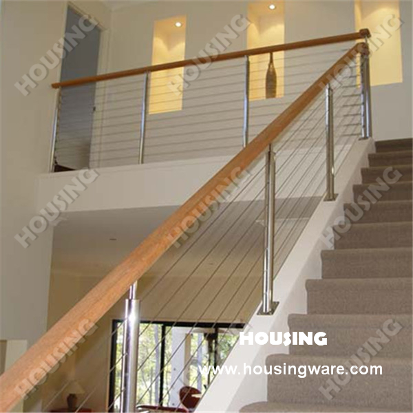 Awesome Good Stainless Steel Wire Railing/wire Stair Railing| Wire Stair Balustrade