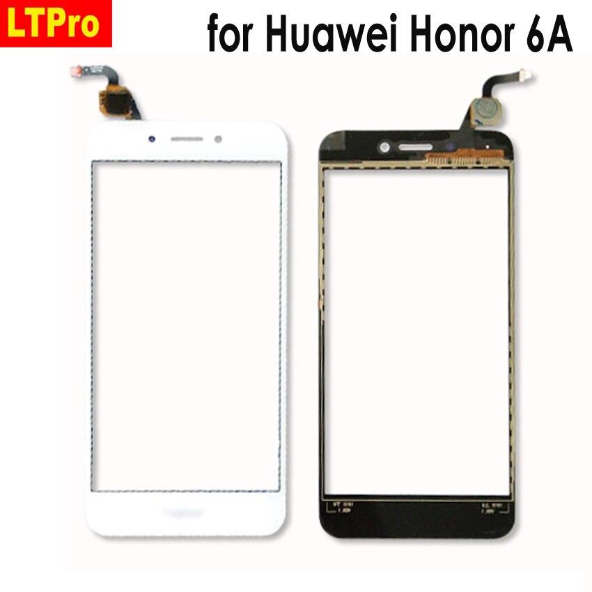 LTPro On Sale !!! NEW Glass Panel Front Touch Screen Digitizer For Huawei Honor 6A DLI-L22 DLI-L01 DLI-TL20 DLI-AL10 Phone Parts