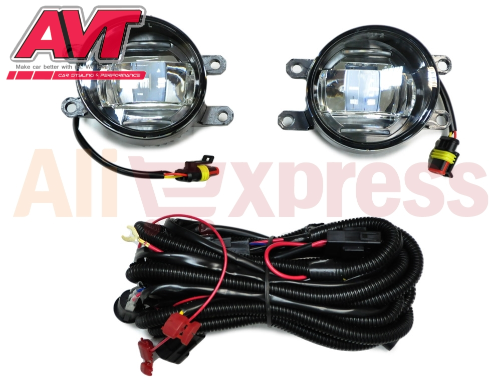 Fog lights for Toyota Camry 2007-2010 1 set / 2 pcs car accessories styling car lights automotive lamps front light for lexus rx gyl1 ggl15 agl10 450h awd 350 awd 2008 2013 car styling led fog lights high brightness fog lamps 1set