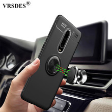 For Oneplus 7 Pro Case Rotating Finger Ring Magnetic Car Holder Case For Oneplus One plus 7 Pro Cover For One plus 7 6 6T Funda