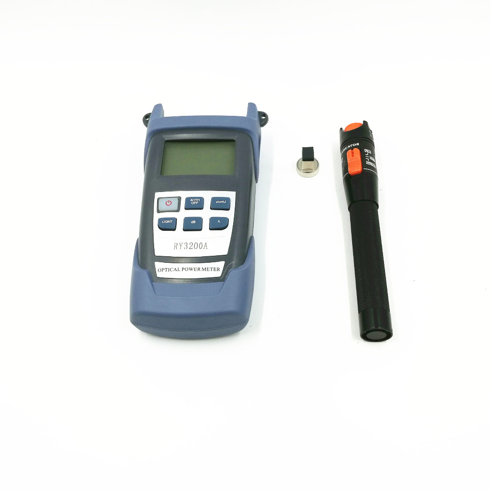Optical Fiber Tool 10MW Visual Locator Fault + RY3200 Optical Meter Power -70 ~ + 10 dBm