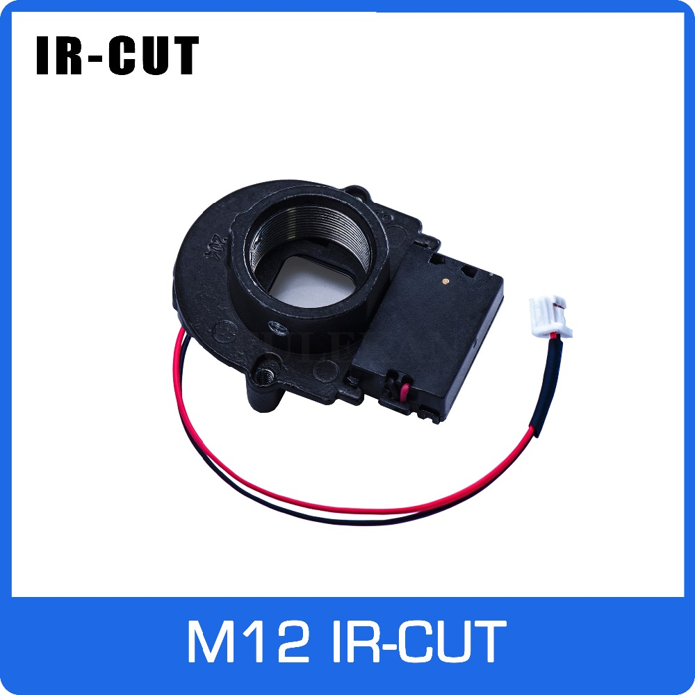 IR CUT ICR With M12 Lens Mount Holder Dual Filters Day And Nigh Automatically Switch For CCTV Camera