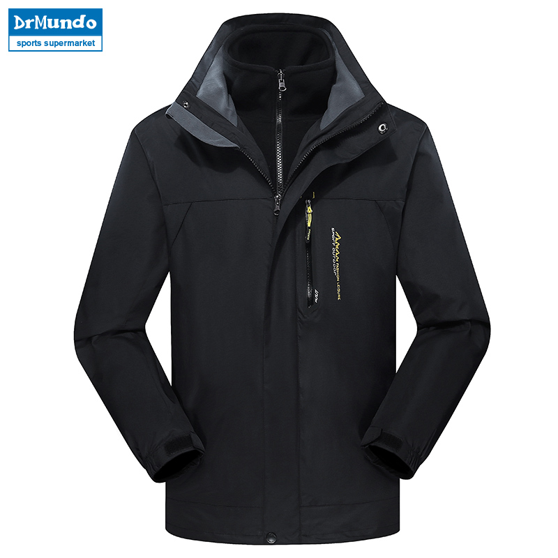 Men Ski jacket Mountain Thicken Plus Size Fleece Ski-wear Waterproof Hiking Outdoor Snowboard Jacket Windproof Snow Coat Clothes detector men ski jacket hight waterproof mountain hiking camping jacket fleece hight windproof ski jacket