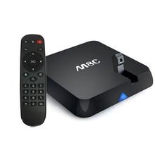 Set Top Box Bluetooth 4.0 Cámara de 5mp M8C Amlogic S802 Androide elegante TV BOX 2G/8G Wifi BT 4.0 HDMI Media player inteligente Receptor de TV