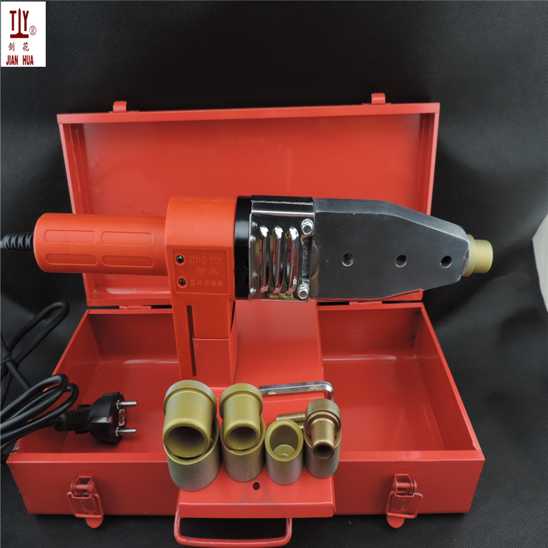 220V Electronic Constant Temperature PPR Hot Melt Machine Water Pipe PB PE 16-32mm Plastic Welding Machine Welding