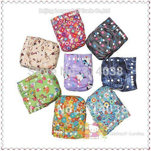 Babyland 20 шт./лот разноцветные 30% скидка babyland детские тканевые подгузники заводская цена