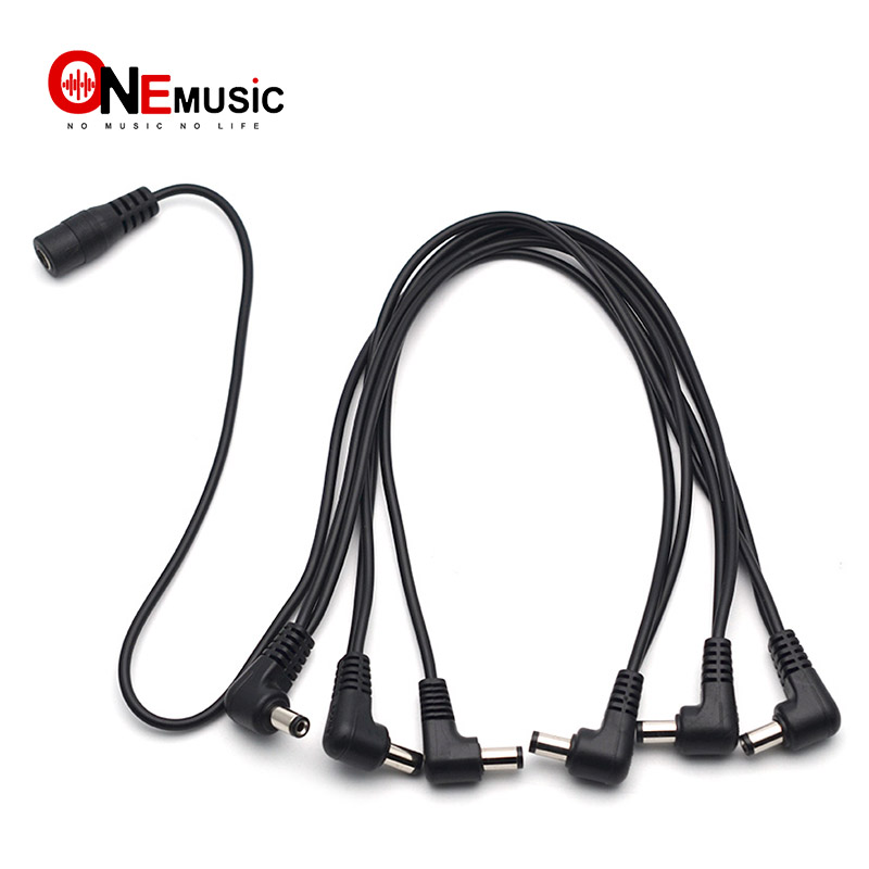 1-9 EFFECTS PEDAL DAISY CHAIN POWER SUPPLY SPLITTER CABLE PALMER 9V
