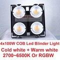 2018 распродажа  светодиодный светильник Blinder 400 Вт WW + CW  светильник для кинотеатра ing COB  светодиодный прожектор s 4 eye 100W  светодиодный светильн...