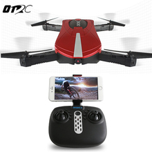 OTRC JY018 ELFIE WiFi FPV Quadcopter Mini Foldable Selfie Drone RC Drones with 2MP Camera HD FPV Professional 720P RC Helicopter