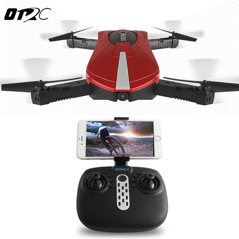 Otrc jy018 Elfie Wi-Fi FPV-системы Quadcopter мини складной селфи Дрон RC Дроны с 2mp Камера HD FPV-системы Профессиональный 720 P вертолет