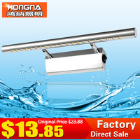Free Shipping Guaranteed 100 High Quality LED Mirror Front Wall Lights Modern Brief Bathroom Wall Lamp