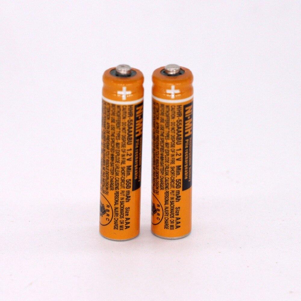 Baterias Recarregáveis baterias hhr-55aaabu para panasonic telefone Nominal Capacidade : 550mah