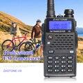 V9 5 W de Longo Alcance Walkie Talkie Zastone VHF UHF 136-174 Mhz/400-520 Mhz Dupla banda Rádio Em Dois Sentidos Handheld Ham Rádio Comunicador