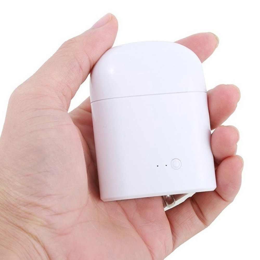 I7s TWS بلوتوث 5.0 سماعة أذن لاسلكية ستيريو سماعة رياضية مع صندوق شحن ميكروفون محمول ل Ios أندرويد