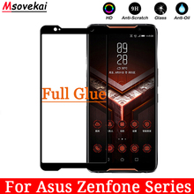Full Glue Tempered Glass For Asus Zenfone Max Pro M2 ZB631KL ZB633KL ZC554KL ASUS ROG Phone ZS600KL 5D 6D Screen Protector Film