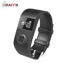 Harefn SX101 Смарт пульсометр smartband фитнес-Трекер bluetooth браслет спортивные Часы Для Android iOS ПК Fitbits