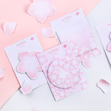 Cute Cherry Sakura N Times Sticky Note Memo Pad Stationery Label Message Stickers School Supplie Notepad escolar цена