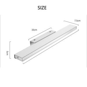 Image 5 - CONDUZIU a Luz do Espelho 42 52cm Cosmética Moderna Acrílico Lâmpada de Parede Sensor de Movimento PIR À Prova D Água Para A Luz Do Banheiro arandela lâmpada ZJQ0005