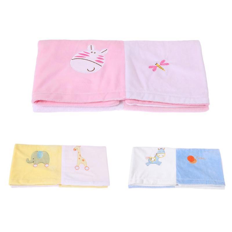 76*76cm Cartoon Beds Thick Warm Kids Fleece Throw Swaddle Flannel Baby Blanket Newborn Faux Fur Super Soft Cartoon Blankets