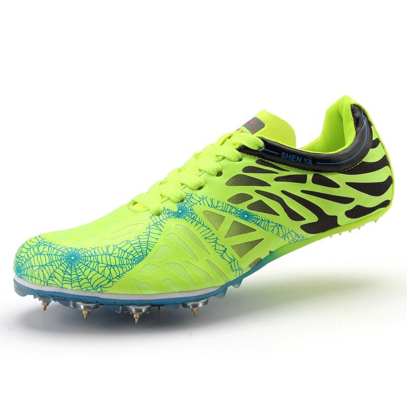 1db353f6d2 Barato Homens Sapatos de Pista e Campo Picos Sapatilhas Zapatos De Hombre  Sapatos de Corrida de