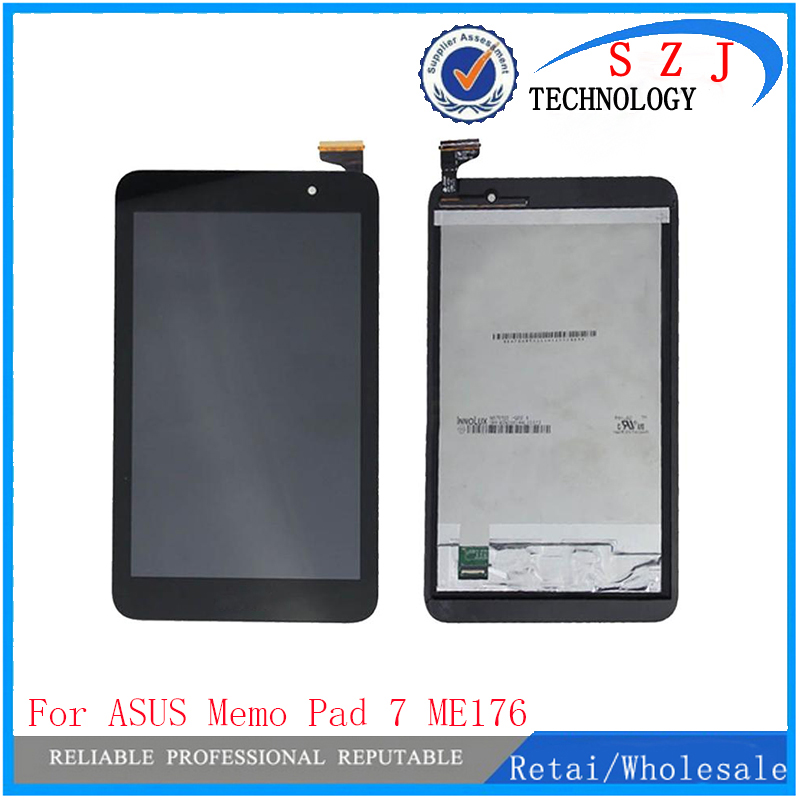 New 7 inch case For Asus Memo Pad 7 ME176CX ME176 K013 FonePad 7 ME375 FE375CG LCD Display touch screen digitizer Free shipping 5piece lot 7inch lcd screen display for asus memo pad 7 me176 me176cx k013 touch screen digitizer glass lens replacement