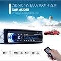 New Registered Car Radio 12V Bluetooth V2.0 Car Audio Stereo In-dash 1 Din FM Aux Input Receiver SD USB MP3 WMA Car Radio Player