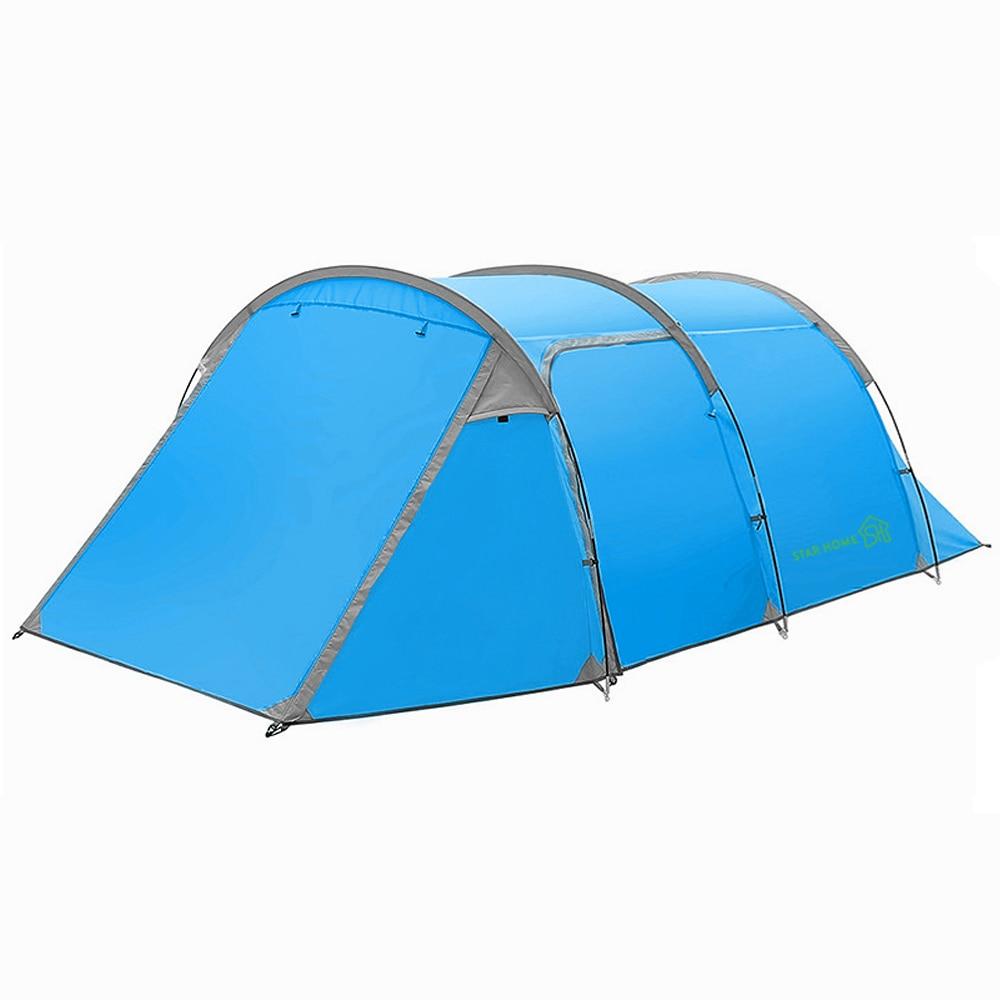 2019 nouvelle tente de Camping en plein air tente imperméable à l'eau plage alpinisme tente tente de Camp pour la famille