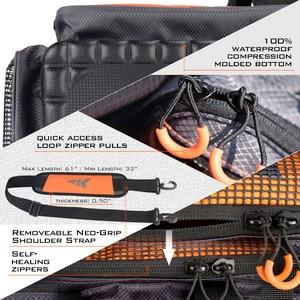 Image 5 - KastKing Fishing Bag Large Capacity Multifunctional Lure Fishing Hawg Tackle Bag Outdoor Pick Up Fishing Boxes Plier Storage