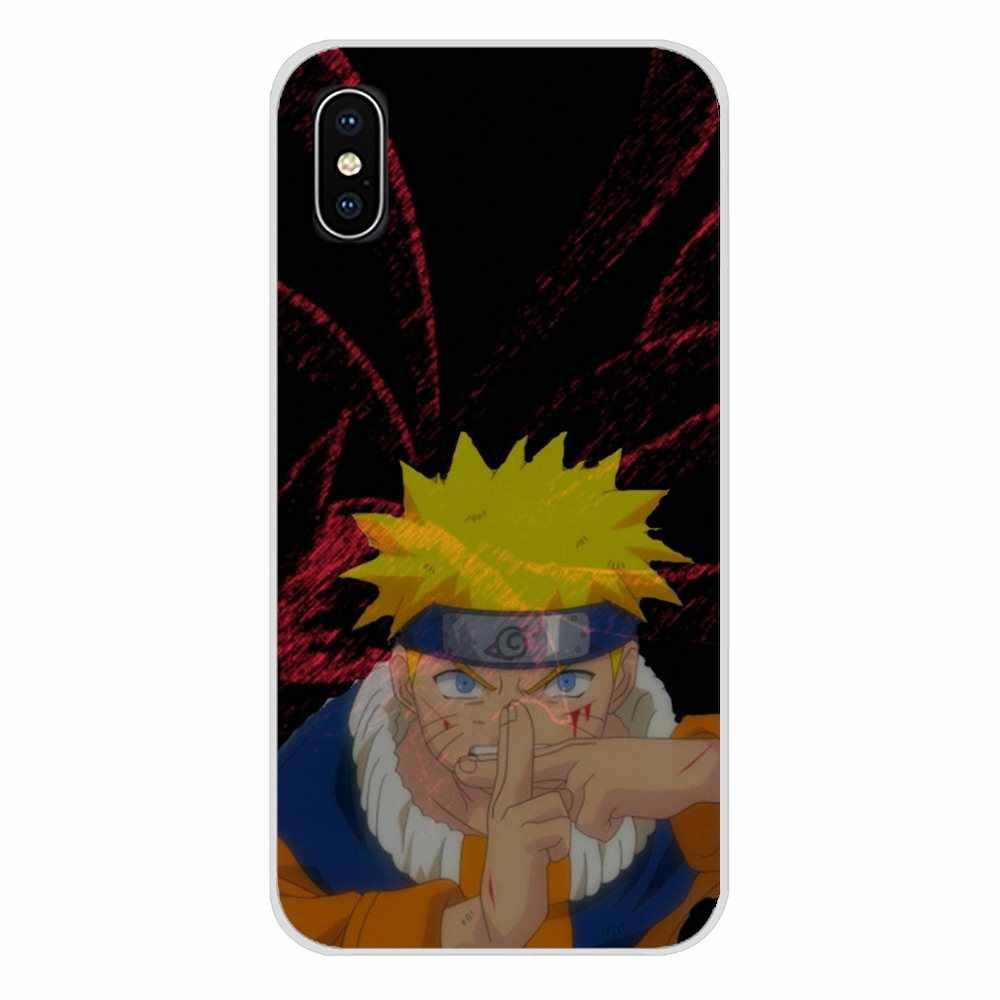 Nine Tailed Demon Fox Naruto โปร่งใสนุ่มสำหรับ Oneplus 3 T 5 T 6 T Nokia 2 3 5 6 8 9 230 3310 2.1 3.1 5.1 7 Plus 2017 2018