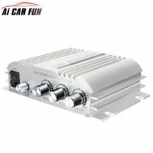 Hi Fi 2 1 Stereo Audio Car Amplifier Booster Subwoofer Low distortion Hi Fi Stereo Amplifier