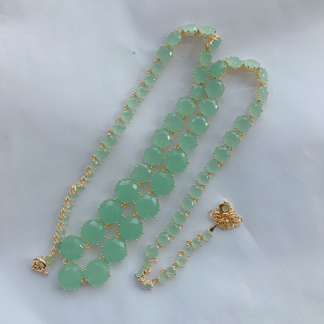 Amybaby Green Stone Faceted...