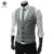 2016 New Arrival Homens de Negócios Colete Terno Slim Vestido Coletes Embutida Lazer Colete Casual Jacket Tops Três Botões