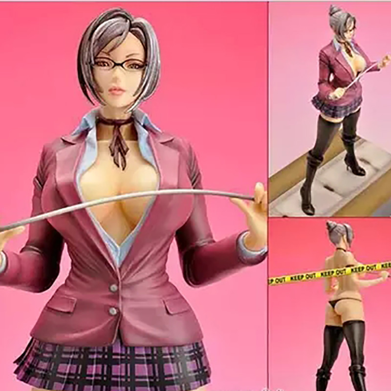 Prisonschool Action Figures,25CM PVC Figure Collectible Toys,Beautiful Sex Action Figures Statue, Anime Figure Figurines Toys