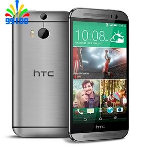 M8 Original Unlocked HTC ONE M8 Quad Core Mobile phone Android 4.4 2GB RAM 32GB ROM 3 Camera Free Shipping